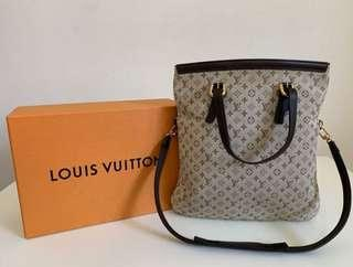 LV Louis Vuitton Mini Lin Francoise Bag with shoulder strap