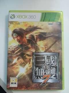 Xbox 360 games Dynasty Warriors/真三國無雙7