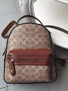 REDUCED Coach Mini Campus Backpack 23