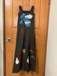 🚚 手繪洋裝