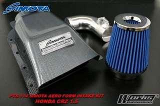 Simota Aero Form II Intake Kits for Honda CRZ City