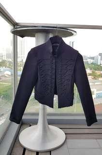 Zara Military Embroidered Jacket