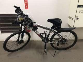 鋁合金自行車 少騎轉讓