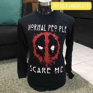 Deadpool longsleeves tshirt