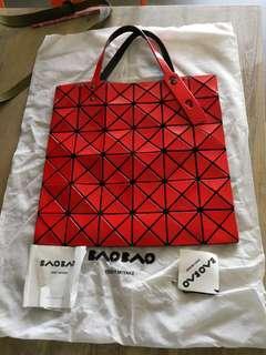 Bao Bao Issey Miyake red