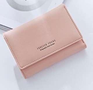 🚚 BNIP Baby Pink Wallet