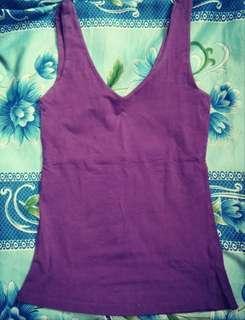 Violet v-neck top