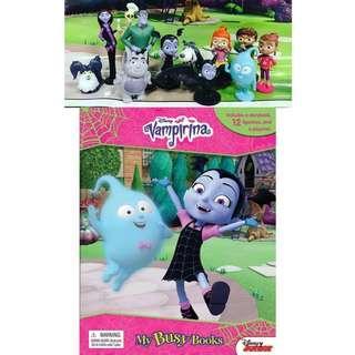 BN: Disney Vampirina My Busy Book with 12 Figurines and Playmat