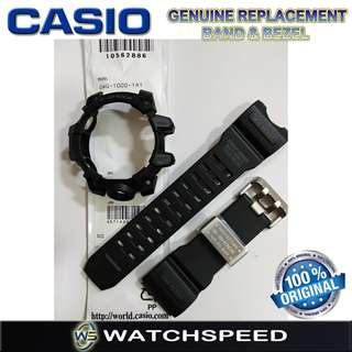 🚚 GWG-1000-1A1 Original Replacement Band and Bezel for Casio G-Shock