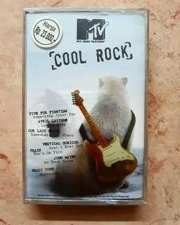 Kaset Pita MTV Cool Rock - Compilation 📼 Baru/New/Sealed