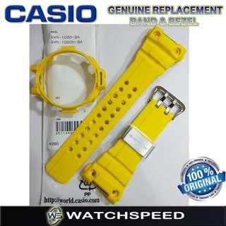 🚚 GWN-1000-9A/ GWN-1000H-9A Original Replacement Band and Bezel for Casio G-Shock Gulf Master