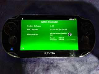 Ps Vita firmware 3.65 with 8GB @ $130