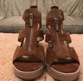 Authentic michael kors wedge sandals
