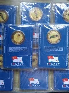 Singapore Navy medals limited edition collectibles