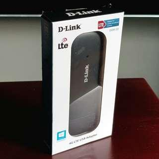 D-link 4G LTE USB dongle/adapter (DWM-222)
