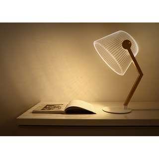 3D Bent Lamp