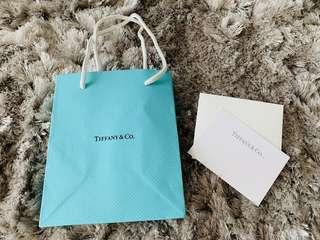 Tiffany & Co. Authentic paper bag
