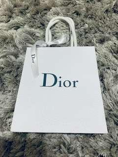 Dior Authentic paper bag