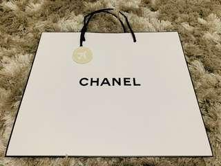 Chanel Authentic beauty paper bag Limited edition accessorie