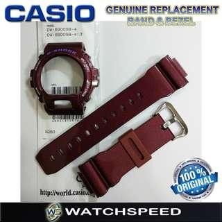 🚚 DW-6900SB-4D Original Replacement Band and Bezel for Casio G-Shock