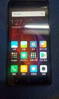 红米Note4X黑色双卡95%新淨機無保養3x32GB