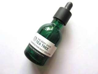 The body shop tea tree anti imperfection daily solution