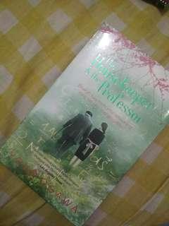 Buku Novel The Housekeeper and The Professor - Yoko Ogawa