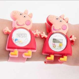 🚚 Children watch