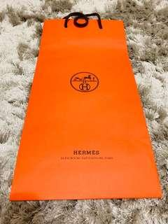 Hermès Authentic paper bag