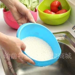 洗菜洗米瀝水盆