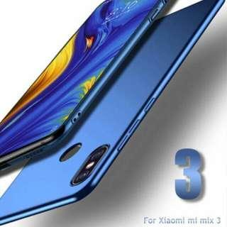 Xiaomi Mi Mix 3 Anti Shock Full Protection Casing 360 Degree Hard Case