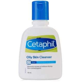 Preloved Cetaphil Oily Skin Cleanser 125ml