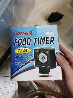Aquarium food timer