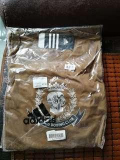 Adidas Boxing Club長袖啡色衫L size
