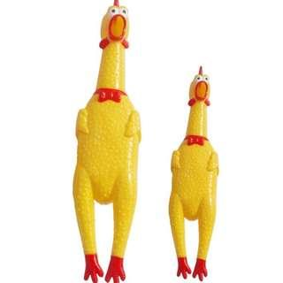 Chicken Squeeze Toy
