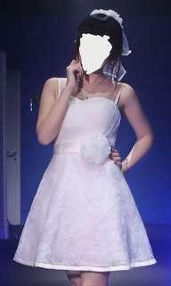 玫瑰花 晚裝裙 宴會裙 伴娘裙 姐妹裙