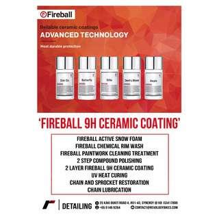 CNY PROMO! Fireball 9H Ceramic Coating Package