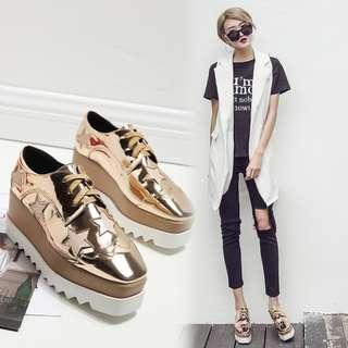 Premium Quality Classic Star Platform Shoes