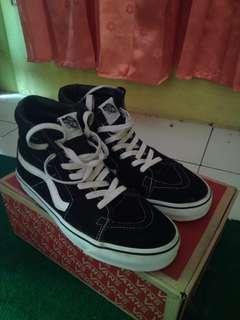 Vans SK8 High Black White