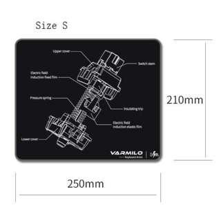Varmilo EC Rose Sakura Mechanical Switch Mousepad (Small/Medium/Large/Extended)
