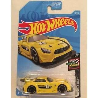 Hotwheels HW Race Day '16 Mercedes-AMG GT3 Rare