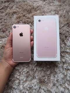 Iphone 7 32gb rose gold mulus