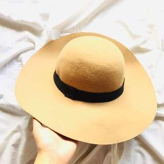 Cotton On Big Tan Hat (REPRICED)
