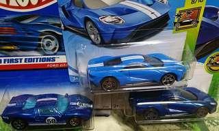 Hotwheels Ford GT set