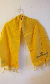 正品英國 Vivienne Westwood 羊毛圍巾