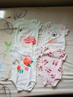 Bundle of Cotton on Baby onesies