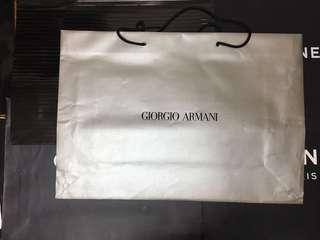 GIORGIOARMANI 各類紙袋