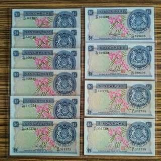 $1 Orchid HSS 10 Pieces Singapore