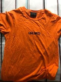 Cotton on unlimited orange unit grunge