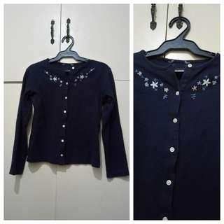 GA115 Marks & Spencer Dark Blue Sweater for Girls Age 9-10